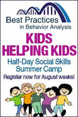 Best Practices in Behavior Analysis Social Skills Summer Camp, register now