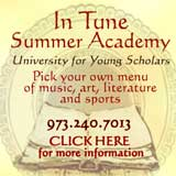 In Tune Summer Academy, music, art, sports, day camps in NJ